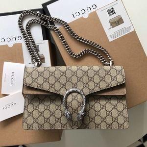 🌸Guccı✨GG🌸Dionysus Small Supreme Shoulder Bag